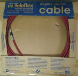 Teleflex Control Cable 33c Sst Mar 32and039 Red Jacket 032377-003-0384.0