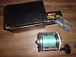 Vintage Garcia Mitchell 624 Conventional Reel Made In France W/ Box And Papers