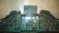 TU-134Ш Military Aircraft Full COCKPIT Pilot Soviet Russian Instrumental Panel