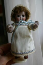 RARE and Authentic KESTNER GOOGLY Eyed All Bisque Jointed Limb 6