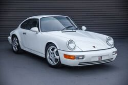 1992 Porsche 911 Carrera 1992 Porsche 911 Carrera 8842 Miles WHITE 2D Coupe 3.6L H6 5-Speed Manual