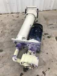 Renner 2000091604 4.8kw Pp Sealless Immersible Chemical Pump 3ph 310lpm