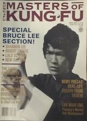 Masters Of Kung Fu Magazine April 1994 Special Bruce Lee Section