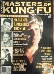 Masters Of Kung Fu Magazine February 1994 Alan Lamb's Year Of Hell
