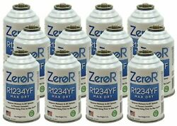 Zeror R1234yf Max Dry Ac Drying Agent - Prevents Rust And Corrosion - 12 Cans