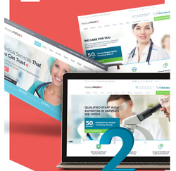 Free Installation Home Health Care Web Design With  Medical Services Page