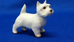 Hagen Renaker West Highland Terrier Miniature Dog Figurnie Excellent Condition