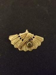 Mexican Pendant Of A Hat And Fan And Fiddle In 18 K Yellow Gold