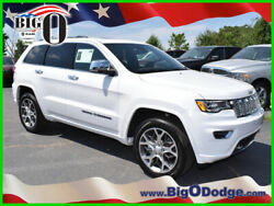 2019 Jeep Grand Cherokee Overland 2019 Overland New 3.6L V6 24V Automatic 4WD SUV Moonroof Premium