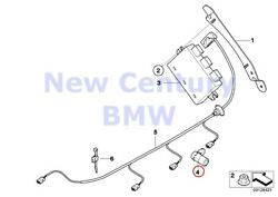 8 X BMW Genuine Park Distance Control (Pdc) Ultrasonic-Sensor Black Sapphire E39