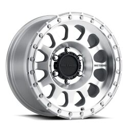 Method 315 Street 17x8.5 8x165.1 Offset 0 Machined/clear Coat Quantity Of 4