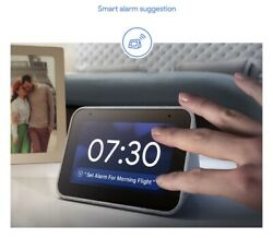 Lenovo Smart Alarm Clock With Google Assistant Perfect Nightstand Or Companion