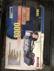 8000 Lb Winch Chicago Electric Power Tools. Never Used. New In Box