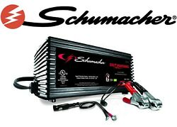 Schumacher Sc1355 1.5a 6/12v Fully Automatic Battery Maintainer New Free Ship