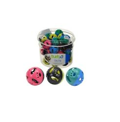 Turbo Bin Plastic Balls For Cat Toy Rattle Crinkling Sounds 36ct