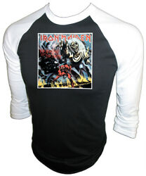 Orig And03982 Iron Maiden Rock 80s Concert Number Of Beast Vtg Iron-on Unused T-shirt