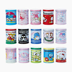 Sanrio Characters 15 Set Mini Can With Stickers Designed In Japan W/ Tracking