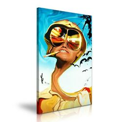 Fear And Loathing In Las Vegas Movie Home Office Canvas Art 5 Sizes To Choose