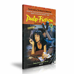Mia Wallace Pulp Fiction Classic Movie Canvas Art 5 Sizes To Choose