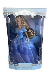 Disney Store Limited Edition Doll Cinderella Live Action 17 Le 4000 Lily James