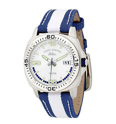 Tommy Bahama Relax RLX2007 Nylon Strap Watch MSRP $125