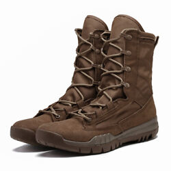 Punk Military Lace Up Men Boots Army Tactical Desert Combat Riding Casual Boots