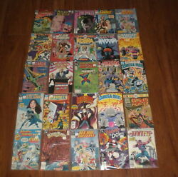 25 Assorted Dc Comic Books - 30 Years Old - 2