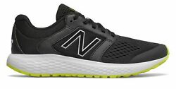 New Balance Men's 520v5 Shoes Black with Yellow