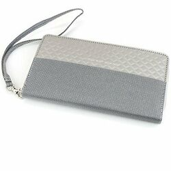 Stewart  Stand Stainless Steel Wallet Ww3430 Round Zipper T  With Tracking Used