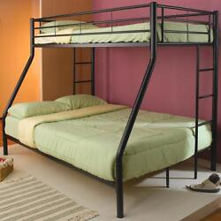 Coaster 460062B - Denley Metal Twin over Full Bunk Bed