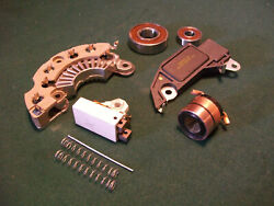 Cs130 And Cs121 Delco Alternator 1 Wire Self Exciting Kit Chevy Gm With Slip-ring
