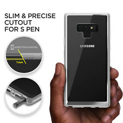 For Samsung Galaxy Note 9 Case VRS® Crystal Chrome Clear Slim Shockproof Cover $9.99