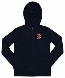 Outerstuff MLB YouthKids Boston Red Sox Performance Full Zip Hoodie $39.99