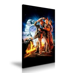 Back To The Future Iii Movie Modern Home Art Canvas 5 Sizes To Choose