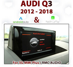 [touch] Audi Q3 2012-18 Touch Overlay Apple Carplay And Android Auto Integration
