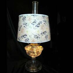 12 Aladdin Multi Color Floral Parchment Shade Matches Most Any Alladin Lamp