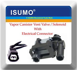 Vapor Canister Vent Valve/solenoid With Connector Fitschevrolet Infiniti Nissan