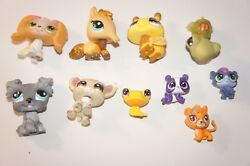 Mixed Lot of 10 LPS Littlest Pet Shop Toys - All Different - Lot #7