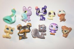 Mixed Lot of 10 LPS Littlest Pet Shop Toys - All Different - Lot #9