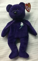 Rare Limited Edition Retired Princess Diana 1997 Ty Beanie Babies Mint