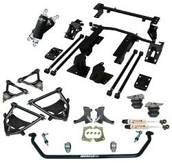 RideTech 11360297 Air Suspension System for 73-87 C-10. Includes front CoolRide