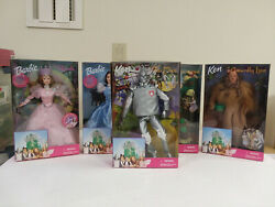 Wizard Of Oz Barbie And Ken Dolls, Nrfb