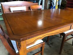 Antique Early 1900's American 6 Piece Dining Set