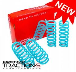 For Q50 14-18 Lowering Springs Traction-s By Godspeed Ls-ts-ii-0006