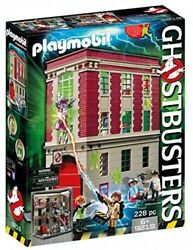 Playmobil - Ghostbusters Firehouse [new Toy] Toy
