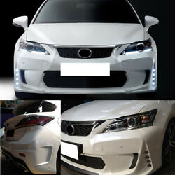 5pcs Front+Rear Board Guard Protector+Side Skirt Part For Lexus CT0h 12-15sa