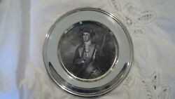 S. Kirk And Son Sterling American Plate Young George Washington + Original Pouch