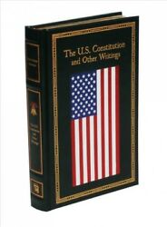 U.s. Constitution And Other Writings Hardcover By Thunder Bay Press Cor M...