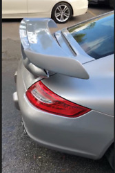 New Porsche 911 997,s, Fiber Glass Gt2 Deck Lid And Wing For Coupe Cars