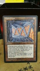 Mtg Mana Crypt Book Insert Promotional Card Contact For Best Price
